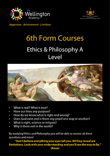 Ethics and Philosophy Course Leaflet