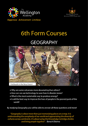 Geography Course Leaflet