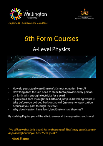 Physics Course Leaflet