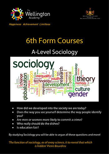 Sociology Course Leaflet